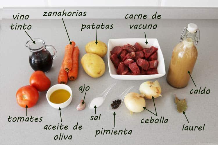 Guiso De Carne Con Patatas Recetas De Cocina Gloton Cubano